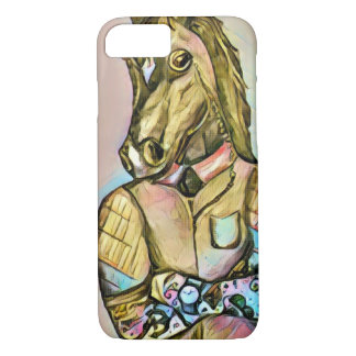 Tattoo gentleman horse iPhone 8/7 case
