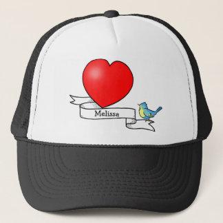 Tattoo Heart for Kids Cap