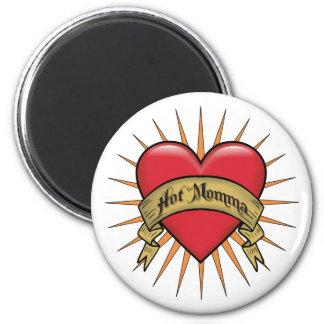 Tattoo Heart Hot Momma Magnet