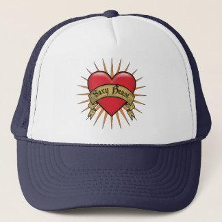 Tattoo Heart Saxy Beast Trucker Hat