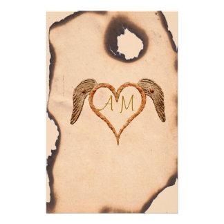 Tattoo Heart Stationery