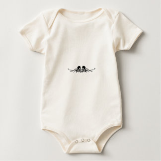 Tattoo Horse Heads Baby Bodysuit
