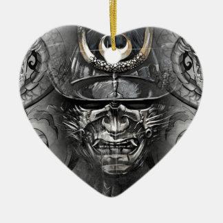 tattoo japanese ceramic heart decoration