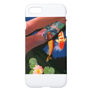 Tattoo Koi iPhone 7 Case