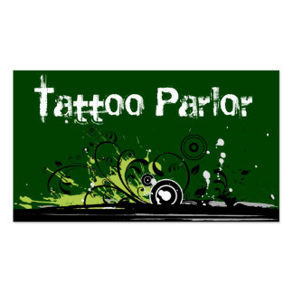 Tattoo Parlor Business Cards
