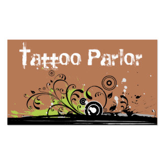 Tattoo Parlor Business Card Templates