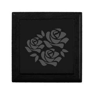 tattoo roses design for keepsake box