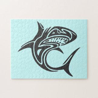 Tattoo Shark Jigsaw Puzzle