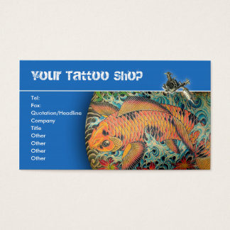 Tattoo Shop Business Cards