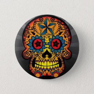 Tattoo Skull 6 Cm Round Badge