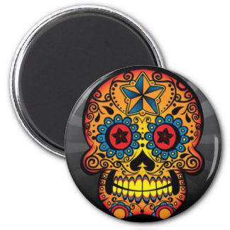 Tattoo Skull Magnet