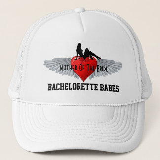 Tattoo style bachelorette party trucker hat