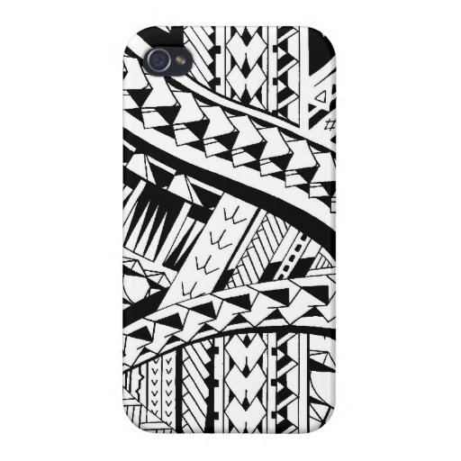 Tattoo style case with samoan inspired patterns case for for Tattoo artist iphone cases