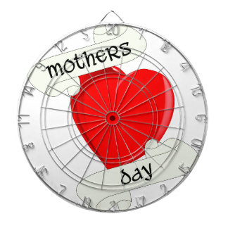 Tattoo Style Mothers Day Dartboard