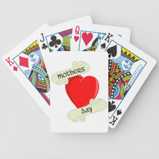 Tattoo Style Mothers Day Poker Deck