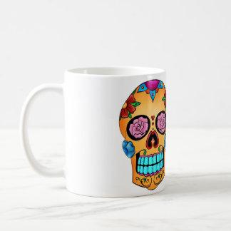 Tattoo Sugar Skull - Day of the Dead, Mexico Coffee Mug