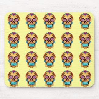 Tattoo Sugar Skull Mouse Pad