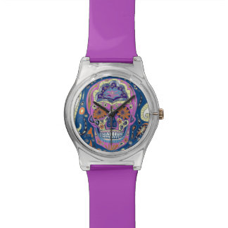 Tattoo Sugar Skull Watch. Watch