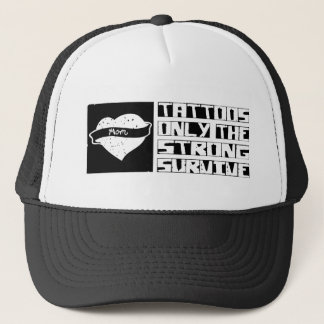 Tattoo Survive Trucker Hat