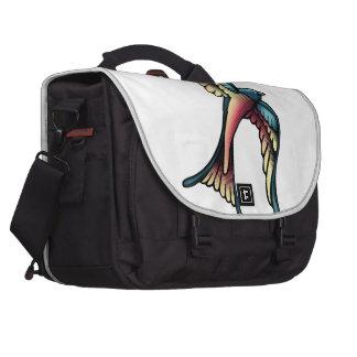 Tattoo Swallow Laptop Messenger Bag