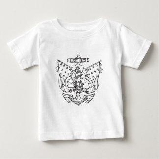 TATTOO TALL SHIP BABY T-Shirt