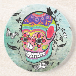 Tattoo Urban Muerte Day of the Dead. Coaster