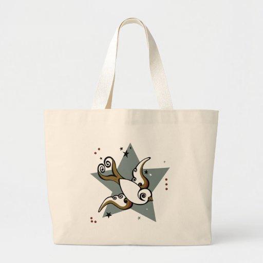 Tattoo Urban Swallow Bird Design Bag