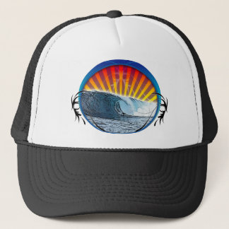 Tattoo Wave Trucker Hat