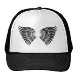 Tattoo wings mesh hat