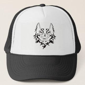 TATTOO WOLF BALL CAP/HAT ART DESIGN TRUCKER HAT