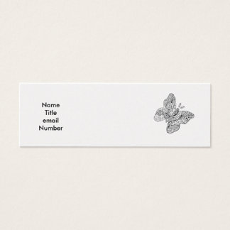 Tattooed Butterfly Profile Card