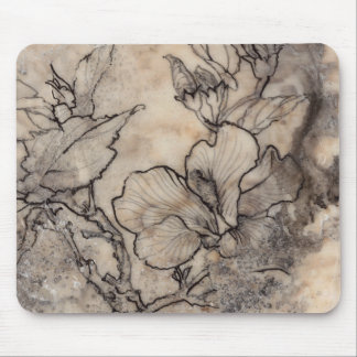 Tattooed Floral I Mouse Mat