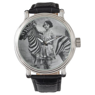 Tattooed Lady and Zebra Watch