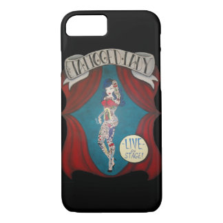 Tattooed Lady Circus Banner iPhone 7 Case