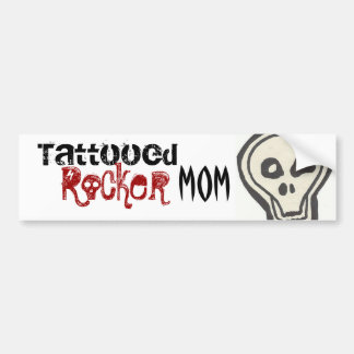 Tattooed Rocker Mom Sticker
