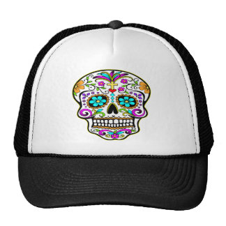 Tattooed Skull Tattoo Mesh Hat