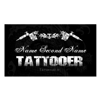 Tattooer Tribe 1 Business Cards