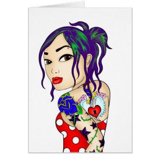 Tatty Sue Greeting Card