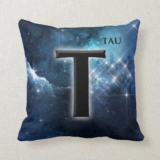 Tau Cross Tree of Life Symbol Stars Galaxy Cushion