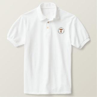 TAU franciscan Cross - TAU francescana Embroidered Polo Shirt