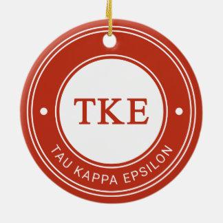 Tau Kappa Epsilon | Badge Christmas Ornament