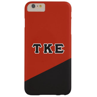 Tau Kappa Epsilon   Greek Letters Barely There iPhone 6 Plus Case