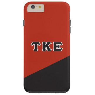 Tau Kappa Epsilon   Greek Letters Tough iPhone 6 Plus Case