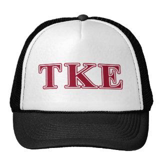 Tau Kappa Epsilon Red Letters Cap