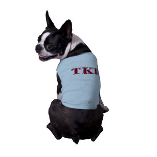 Tau Kappa Epsilon Red Letters Shirt