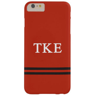Tau Kappa Epsilon   Sport Stripe Barely There iPhone 6 Plus Case