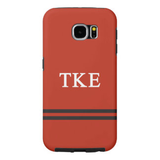 Tau Kappa Epsilon | Sport Stripe Samsung Galaxy S6 Cases