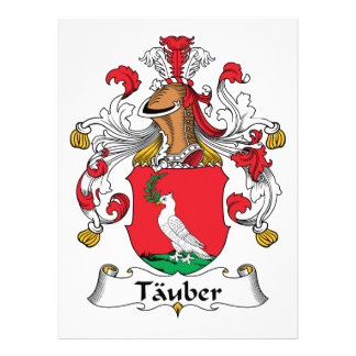Tauber Family Crest Announcements