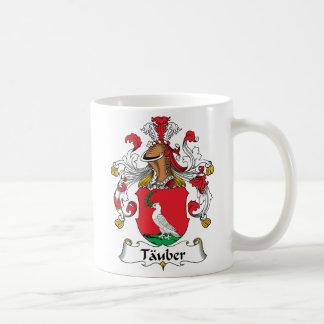 Tauber Family Crest Basic White Mug