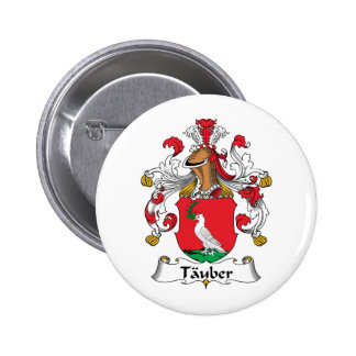 Tauber Family Crest Button